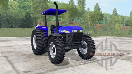 New Holland 7630 ultramarine para Farming Simulator 2017