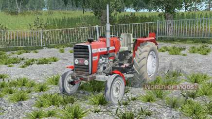 Massey Ferguson 255 without cab para Farming Simulator 2015
