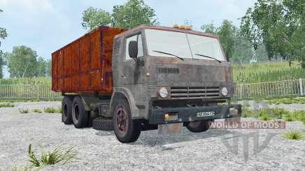 KamAZ-53212 oxidado para Farming Simulator 2015