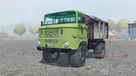 IFA W50 L olivine para Farming Simulator 2013