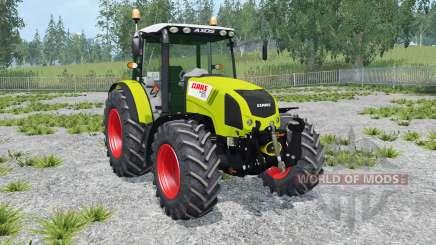 Claas Axos 330 peridot para Farming Simulator 2015