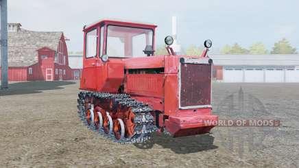 DT-75 suave color rojo para Farming Simulator 2013