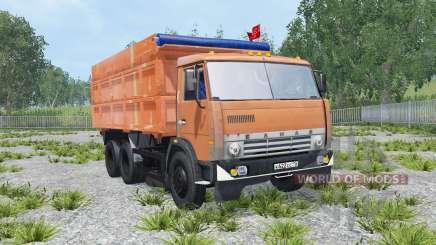 KamAZ-45143 y NefAZ-8560 para Farming Simulator 2015