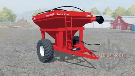 Jan Tanker 10.500 coral red para Farming Simulator 2013