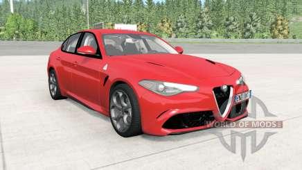 Alfa Romeo Giulia Quadrifoglio (952) para BeamNG Drive