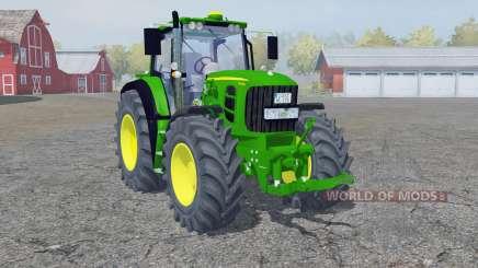 John Deere 7530 Premium frente loadeᶉ para Farming Simulator 2013