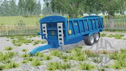 Marshall QM-16 correct sized wheels para Farming Simulator 2015
