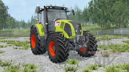 Claas Axion 850 IC control para Farming Simulator 2015