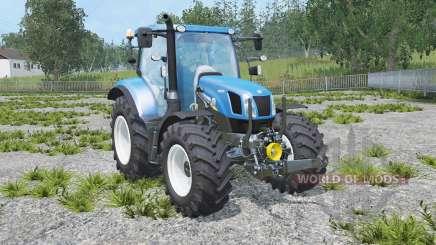 New Holland T6.160 real engine para Farming Simulator 2015