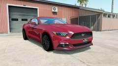 Ford Mustang GT fastback 2014 para American Truck Simulator