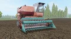 SK-5 Niva moderadamente color rojo para Farming Simulator 2017
