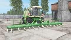 Krone BiG X 1100 buɳker capacidad para Farming Simulator 2017