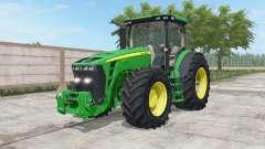 John Deere 8245R-8345R north texas green para Farming Simulator 2017