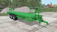 Laumetris PTL-20R north texas green para Farming Simulator 2017