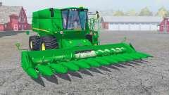 John Deere S690i with cutter para Farming Simulator 2013