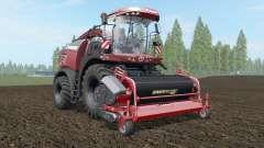 Krone BiG X 580 Tuning Edition deep chestnut para Farming Simulator 2017