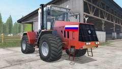 Kirovets K-744R3 color rojo para Farming Simulator 2017