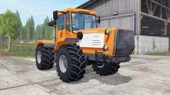 Slobozhanets HTA-220V color naranja brillante para Farming Simulator 2017