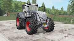 Fendt 930-939 Vᶏrio Belleza Negro para Farming Simulator 2017