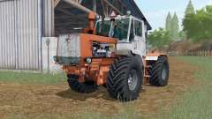 T-150K Sienna color naranja para Farming Simulator 2017