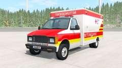 Gavril H-Series German Ambulance v1.1 para BeamNG Drive