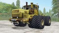 Kirovets K-700A opciones de ruedas para Farming Simulator 2017