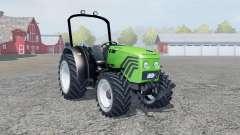 Deutz-Fahr Agroplus 77 lime green para Farming Simulator 2013