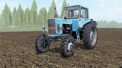 MTZ-80, Bielorrusia suave de color azul para Farming Simulator 2017