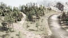 Ruso backwoods para MudRunner