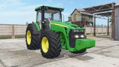John Deere 8245R-8345R real GPS para Farming Simulator 2017