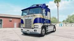 Kenworth K100E phthalo blue para American Truck Simulator