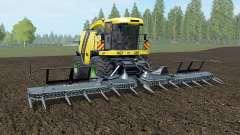 Krone BiG X 1100 banana yellow para Farming Simulator 2017