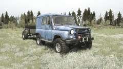 El UAZ-3151 para MudRunner