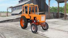 T-25A color naranja brillante para Farming Simulator 2017