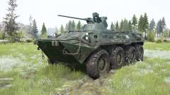 EL BTR-82A para MudRunner