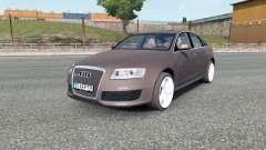 Audi RS 6 (C6) sedan 2008 para Euro Truck Simulator 2