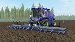 Krone BiG X 1100 governor bay para Farming Simulator 2017