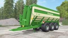 Krone TX 430 north texas green para Farming Simulator 2017