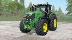 John Deere 6250R wheels selection para Farming Simulator 2017
