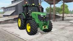 John Deere 6250R spanish green para Farming Simulator 2017