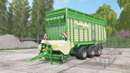 Krone ZX 550 GD pigment green para Farming Simulator 2017