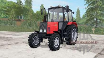 MTZ-820 Belarús luz de color rojo para Farming Simulator 2017