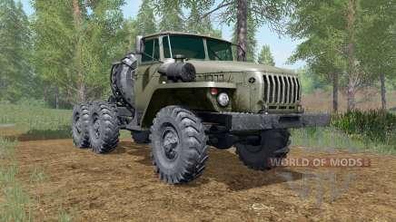 Ural-4420-wheel drive para Farming Simulator 2017