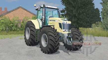 Massey Ferguson 7726 Krone Edition para Farming Simulator 2015
