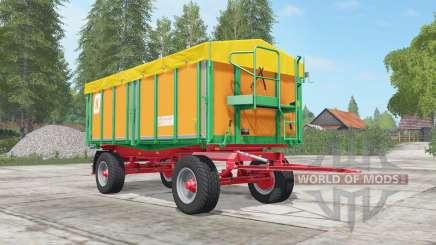 Kroger Agroliner HKD 302 sea buckthorn para Farming Simulator 2017