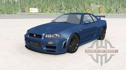 Nissan Skyline GT-R Nismo Z-Tune (R34) 2005 para BeamNG Drive
