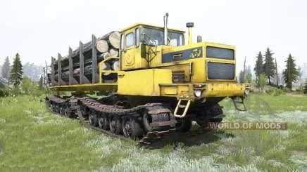 БТ361А-01 Tyumen color amarillo para MudRunner