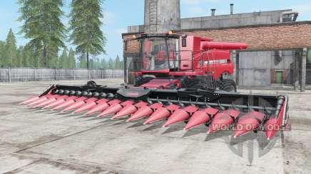 Case IH Axial-Flow 9230 profundo cᶏrmine rosa para Farming Simulator 2017