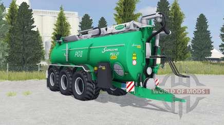 Samson PGII 27 munsell green para Farming Simulator 2015