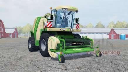 Krone BiG X 1100 wheel options para Farming Simulator 2013